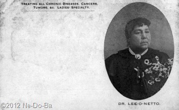 Dr. Lee-o-netto - Post Card (front)