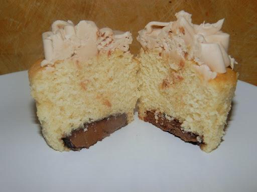 Nutella flavoured cupcakes recipie
