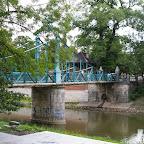 The bridge over the Odra river.