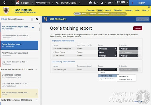FM 2014 Training Report