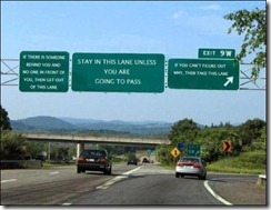 freeway signs