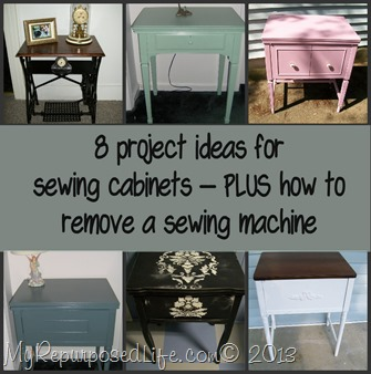 My Repurposed Life-Sewing Cabinets