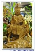 【宇宙之母地母娘娘】一尺三樟木精雕@九龍神明佛像木雕藝術