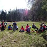 Dupa o tura cam de 6 ore, iata-ne ajunsi in Valea Cerbului, in asteptarea microbuzului.