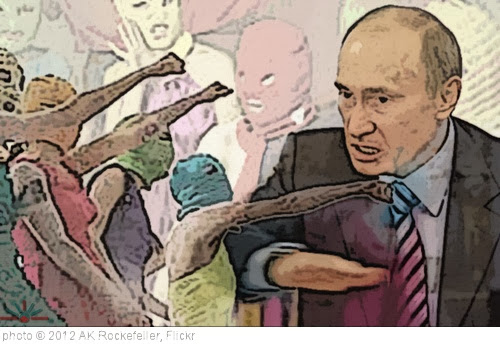 'Pussy Riot Putin' photo (c) 2012, AK Rockefeller - license: http://creativecommons.org/licenses/by-sa/2.0/