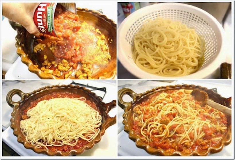 Pasta with Chorizo - espagueti14