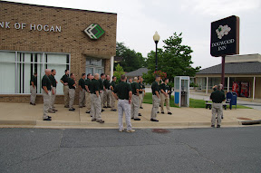 The Bank of Hogan gets robbed several times a week.