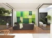 decoracion-salon-color-verde