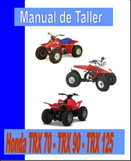 manual taller trx 70 90 125