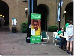 NSPCC Charity Poster