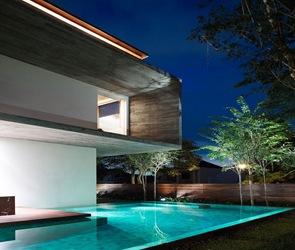 Diseño de piscina sin bordes