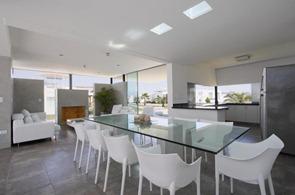 Decoracion-diseño-interior-comedor-blanco