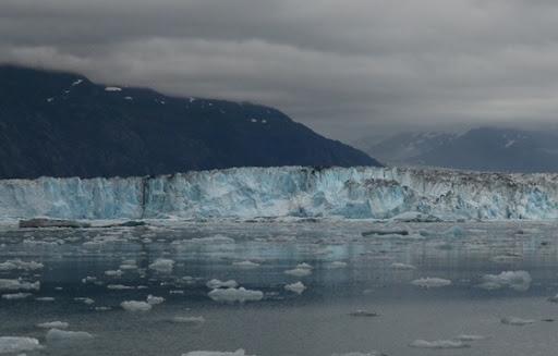 Columbia Glacier east arm