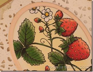 flour strawberry sfytt closeup