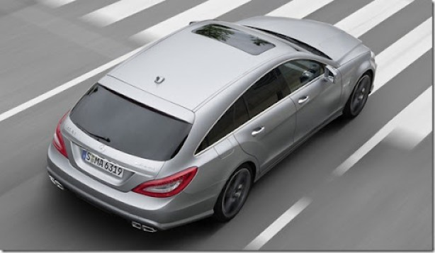Mercedes CLS 63 AMG Shooting Brake  (3)