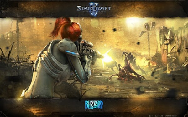 starcraft2 Hearth of the Swarm