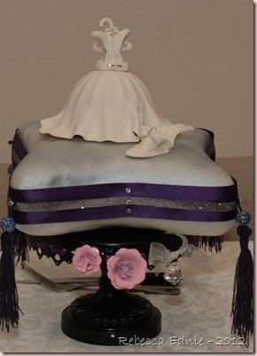 sarah shower cake
