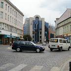 Cobblestones throughout the city.