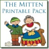 Printables for The Mitten by Jan Brett