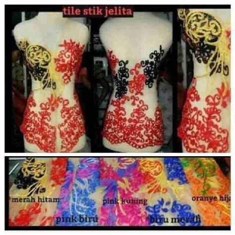 Kebaya Tile Stik Jelita made to order kode: kode: 21215-02