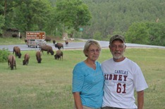 Nancy and Roger at Custer State Park