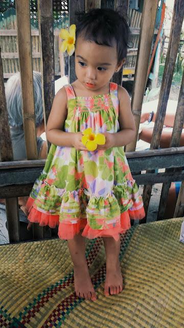 Toddler flower dress
