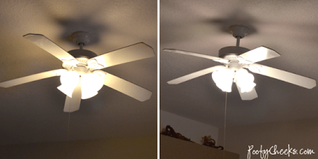 Living Room Before & After| GE Reveal Lighting