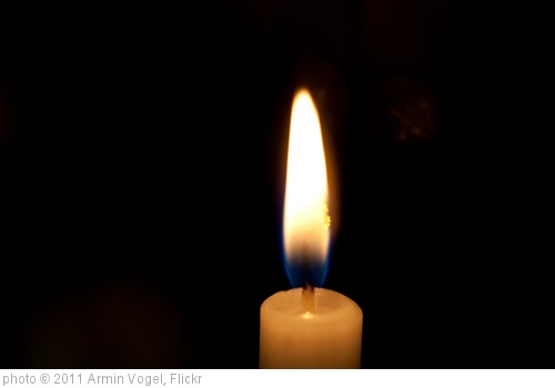 Better to light one candle than to curse the darkness.