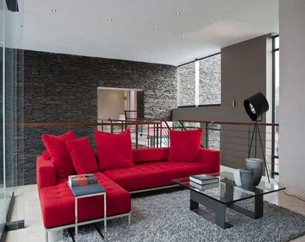 decoracion-casa-lujo-sillon-rojo