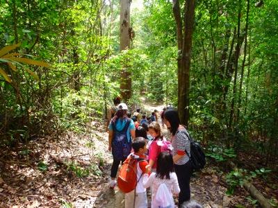 Let s walk this route longer but safer not so steep downslope