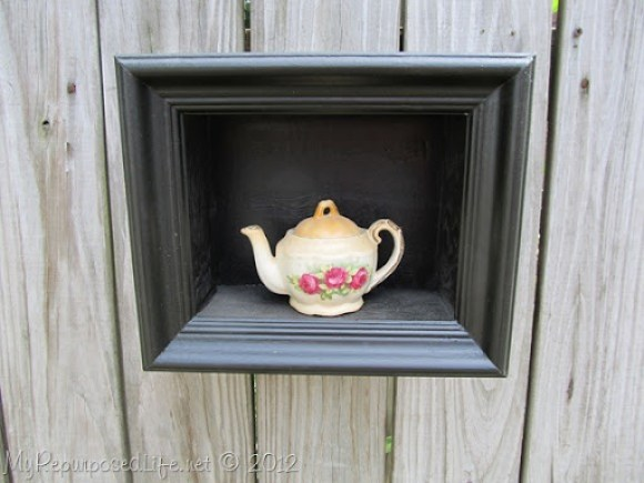 small black picture frame shadow box