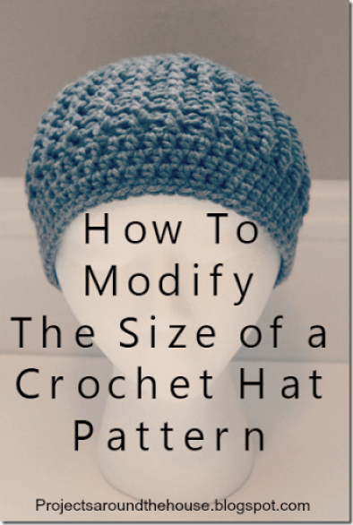 How To Modify The Size Of A Crochet Hat Pattern Renewed Claimed Path