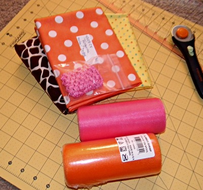 fabric tutu supplies