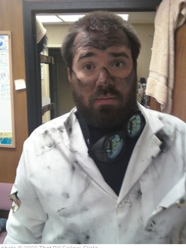 'Post-Explosion Mad Scientist Costume' photo (c) 2009, That Bill Fellow - license: http://creativecommons.org/licenses/by-sa/2.0/