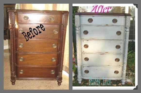 dresser makeover with ASCP