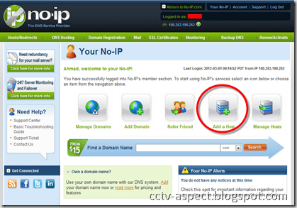 how to know hostname from ip