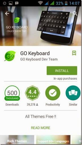 cara mengganti tampilan keyboard di hp android