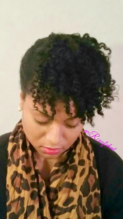 Newbie Natural Monday: Quick Protective Style