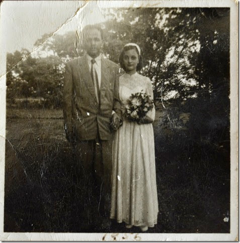 Sarfaraz & Rosemary Wedding 25 June 1956