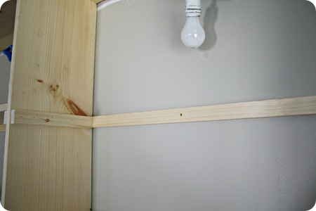 shelf supports bookcase
