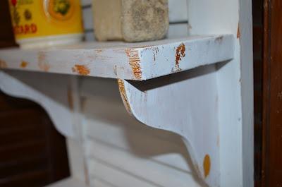 Repurposed Shutter Shelf 10