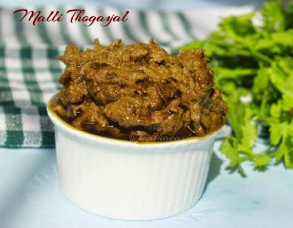 Malli Thogayal2