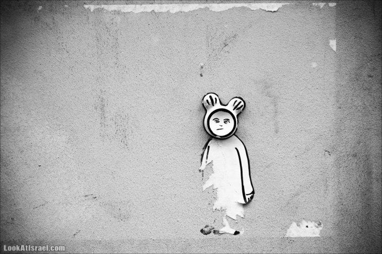 LookAtIsrael.com - Граффити Тель Авива, стрит арт | Tel Aviv street art