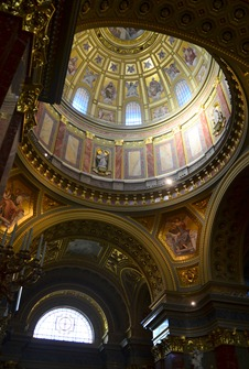 the dome in St Stephens
