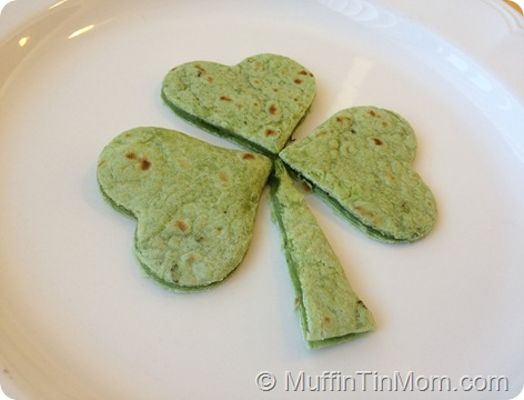 shamrock quesadilla