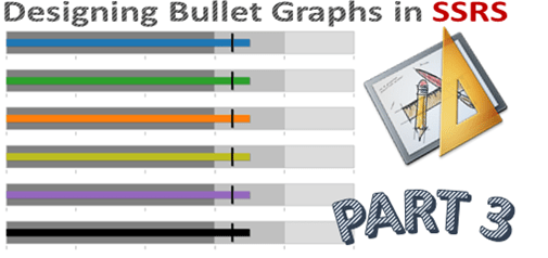Designing Bullet Graphs in SSRS - Part 3