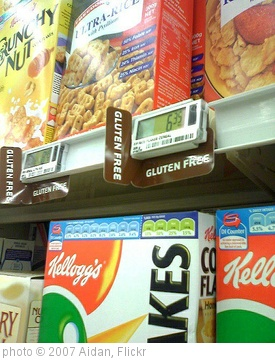 'Gluten Free tag at New World' photo (c) 2007, Aidan - license: http://creativecommons.org/licenses/by/2.0/
