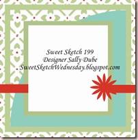 Sweet Sketch wed 199