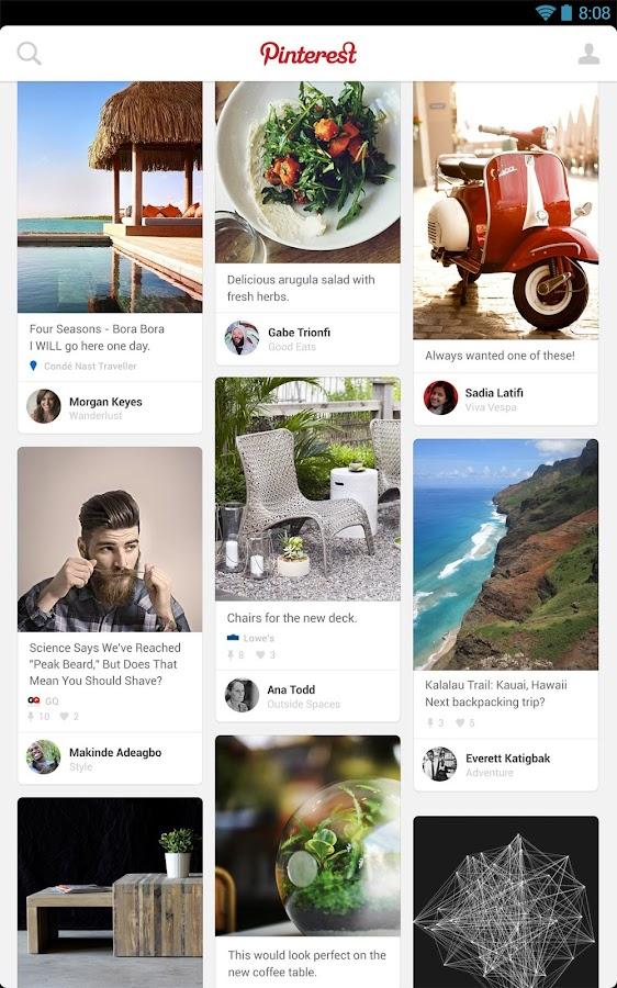Pinterest Приложения на Google Play