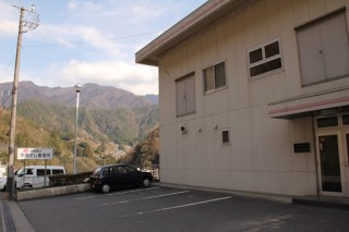中部電力平岡ダム管理所